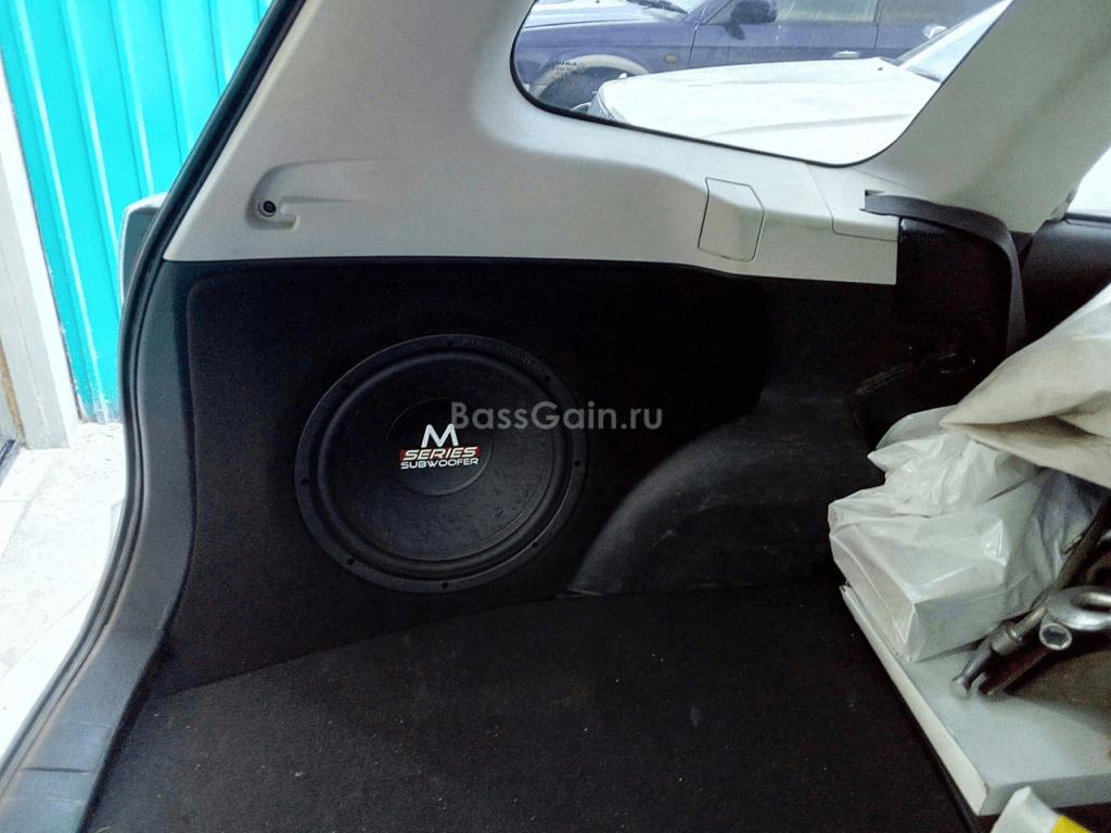 Стэлс в Subaru Forester